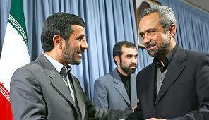 ملاقات هیأت رییسه اتاق ایران با احمدی نژاد و لاریجانی