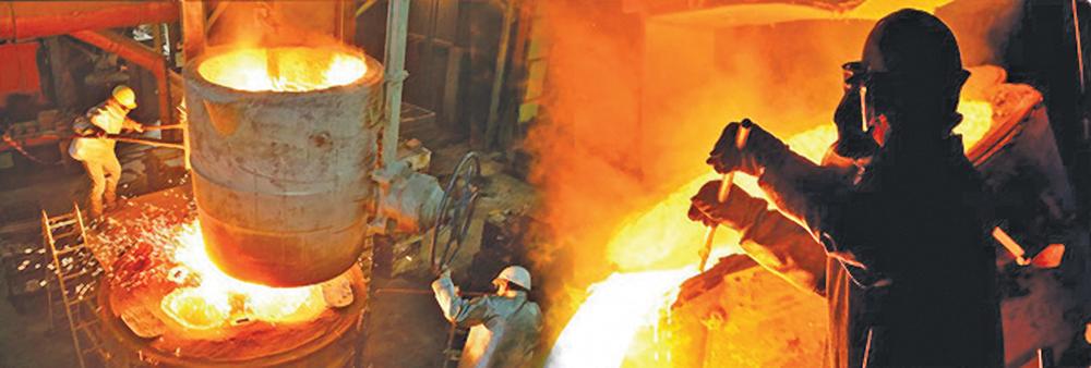افزایش تولید جهانی فولاد و نوسان بازارها