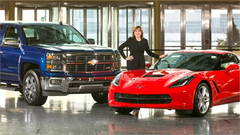 قدرتمندترین زن در تاریخ صنعت خودرو