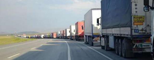 توقف ۲۵۰ کامیون در مرز ایران به ترکیه/ بررسی مسیرهای جایگزین ترکیه برای ترانزیت