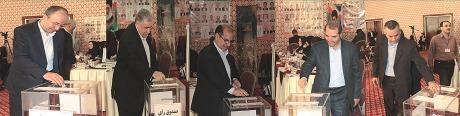 فوت یکی از کاندیداهای ریاست اتاق اصناف ایران در جلسه انتخابات