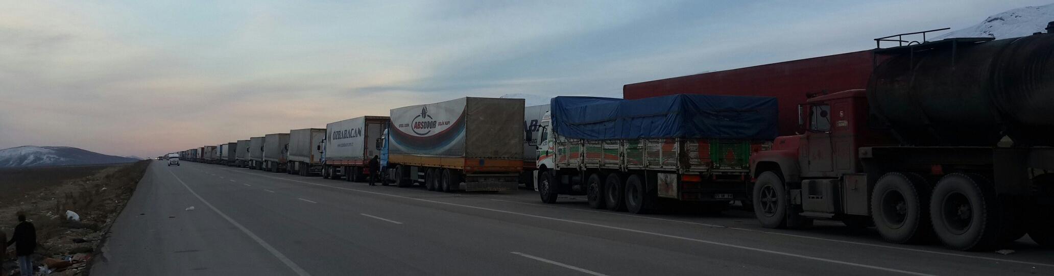 افزایش مبادلات تجاری با مرز بسته ایران و ترکیه رخ نمیدهد