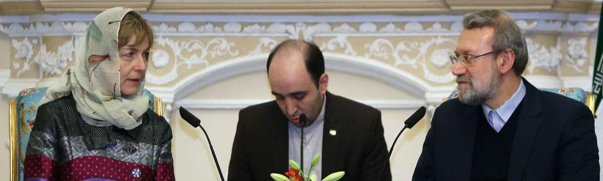 لاریجانی:اگر بهانه جویی های واهی نباشد دستیابی به توافق هسته ای دور از انتظار نیست