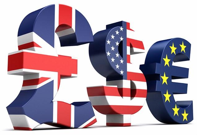 افزایش ارزش برابری یورو در معاملات روز دوشنبه بازارهای جهانی