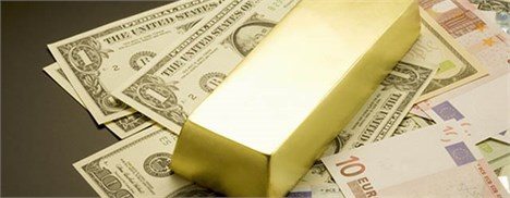 طلا نزدیک به کمترین قیمت آن در شش هفته اخیر
