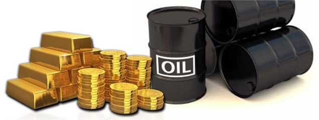 نوسانات نفت و طلا حول سطوح حمایتی