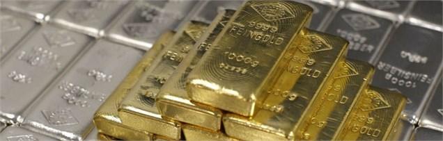 کاهش بهای طلا و نقره در بازارهای جهان