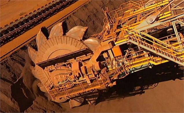 کاهش بهای جهانی  سنگ آهن به 58.20 دلار در هر تن