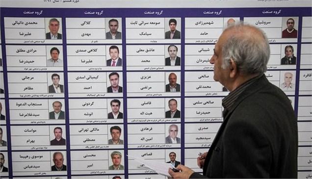 نتیجه انتخابات اتاق بازرگانی تهران