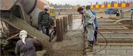 توقیف مصالح ساختمانی غیراستاندارد در تهران