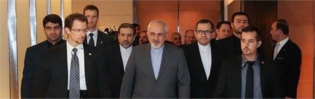دیدار ظریف - کری در لوزان، رایزنی با وزیران اروپایی در بروکسل