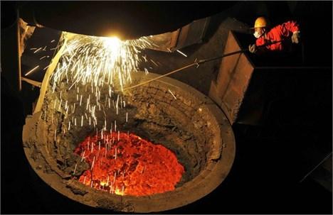 افزایش بیسابقه صادرات فولاد چین در نتیجه رکود داخلی