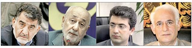 کسبوکار 4 نفر اول انتخابات اتاق تهران