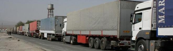 مشکل ورود کامیون های حامل محصولات پتروشیمی به ترکیه حل شد