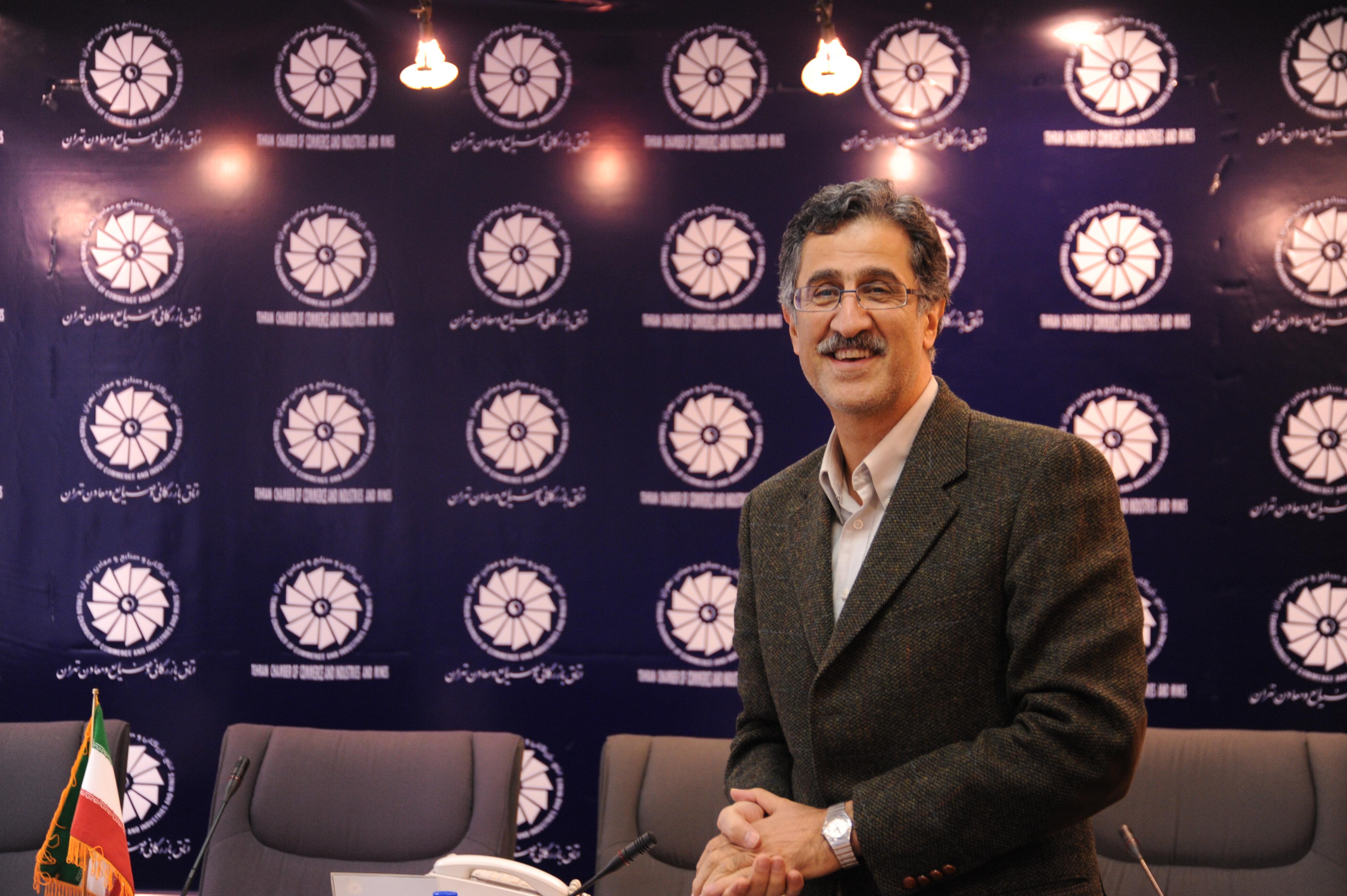 مسعود خوانساری رئیس اتاق بازرگانی تهران شد