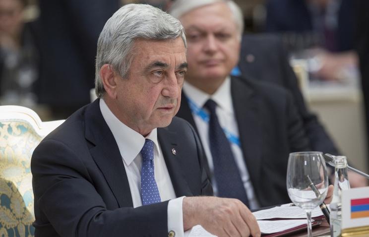 ارمنستان خواهان پیوستن ایران به اتحادیه اقتصادی اوراسیا شد.