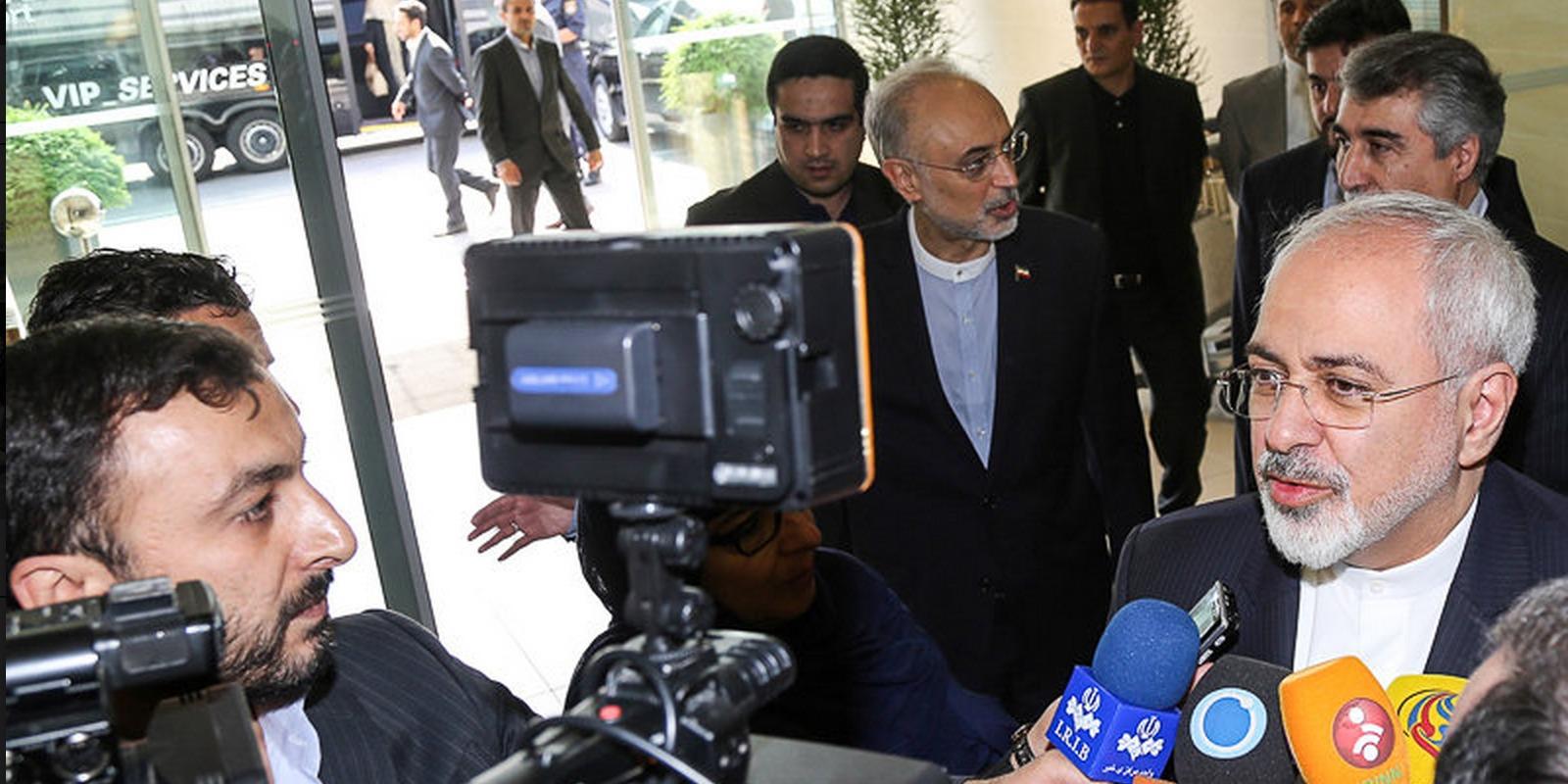 ظریف: توافق هسته ای؛ انتخابی بین همکاری و تنش