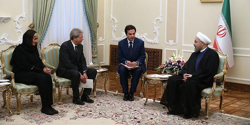 برای میزبانی از رییس جمهوری ایران رقابت است/ هدف ایتالیا: توسعه هر چه بیشتر روابط با ایران