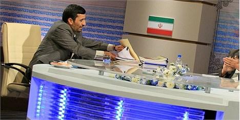 احمدی نژاد: با 10 دقیقه مناظره بساط شان را جمع میکنم