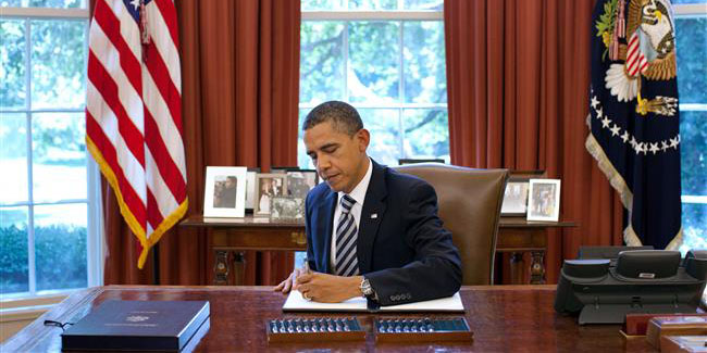 اوباما لایحه ضد ایرانی جلوگیری از اجرای برجام را وتو میکند