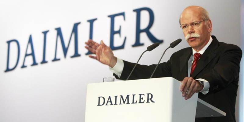 قرارداد مدیرعامل دایملر تمدید شد