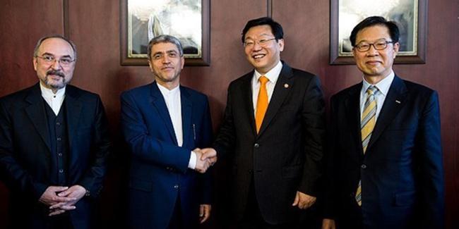 امضای یادداشت تفاهم 5 میلیارد یورویی تامین مالی میان ایران و کره جنوبی