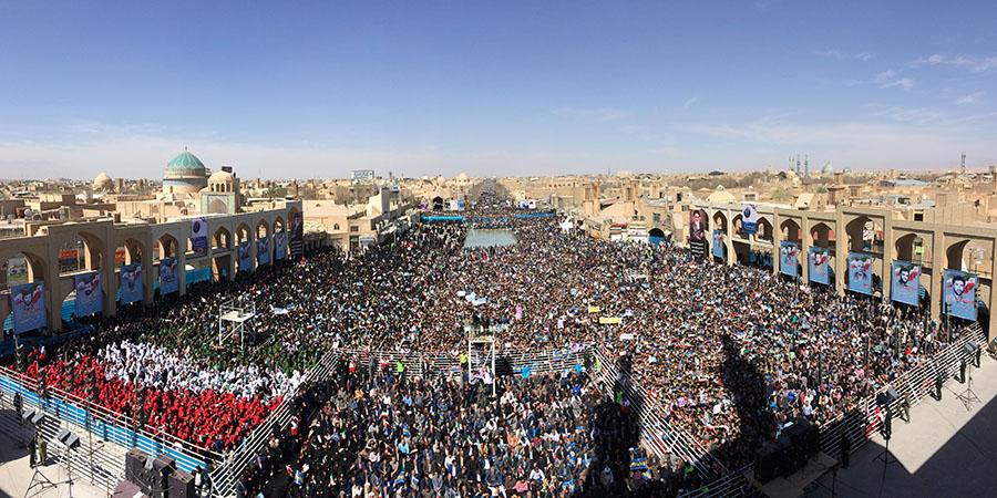 سال 95، سال شکوفایی و رونق اقتصادی ایران / رای ملت ایران رای به عقلانیت، منطق و امید به آینده بود