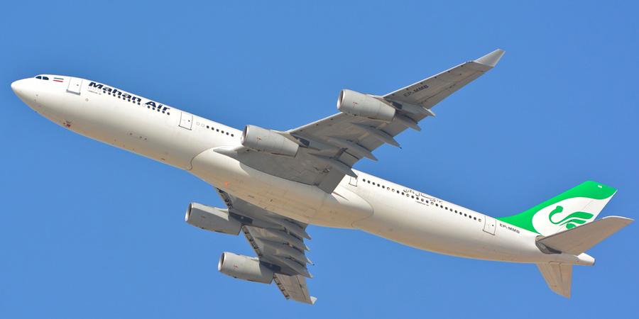 عبور هواپیماهای شرکت ماهان از فضای عربستان ممنوع شد