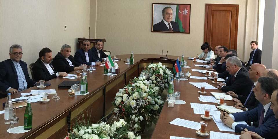 دیدار واعظی با وزیر کشاورزی جمهوری آذربایجان