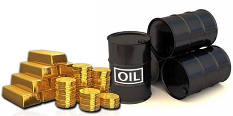 کاهش قیمت طلای سیاه و زرد در بازار جهانی