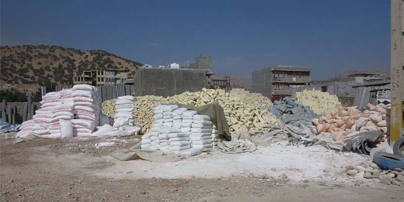 نوسان قیمت انواع مصالح ساختمانی