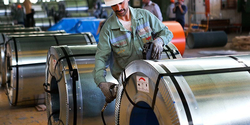 باید 2میلیون تن ورق فولادی برای لوله و پروفیل تامین شود
