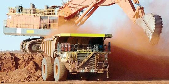 ماشینآلات معدنی در انتظار اتفاقی مثبت