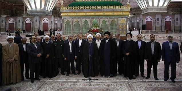 اقتصاد ایران در مسیر درستی قرار گرفته است/ هدف دولت، اجرای اقتصاد مقاومتی، رونق و ایجاد اشتغال است