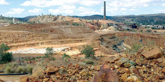 رود قرمز سیبری یادآور ریسک فعالیتهای معدنی
