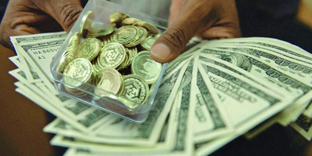 رشد 25 درصدی سکه و 6 درصدی دلار در یکسال