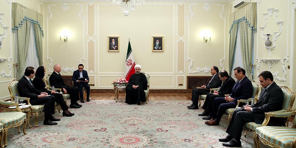 آلمان نخستین شریک تجاری جمهوری اسلامی ایران در اتحادیه اروپا است