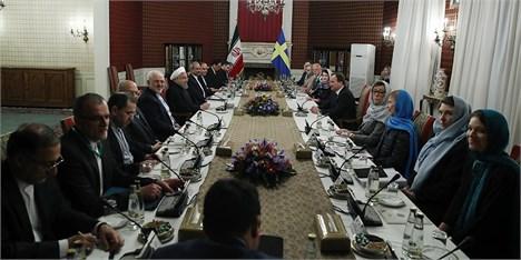 پنج سند همکاری میان ایران و سوئد امضا شد