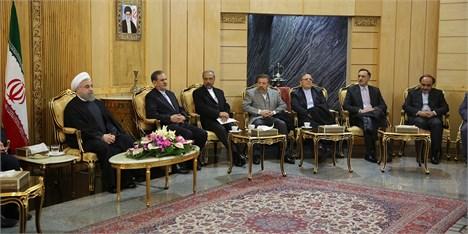 اساس سیاست خارجی جمهوری اسلامی ایران حسن همجواری با همسایگان و حفظ امنیت خلیج فارس است