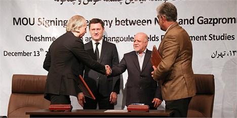 وزیران نفت ایران و عراق یادداشت تفاهم همکاری امضا کردند