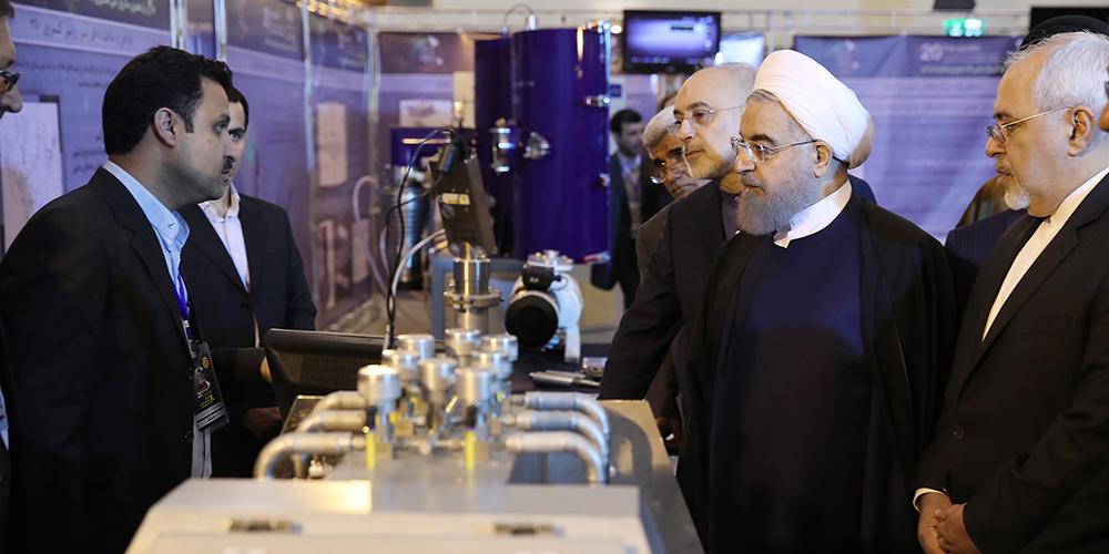 رونمایی دو دستاورد سازمان انرژی اتمی و سه مرکز مهم هستهای