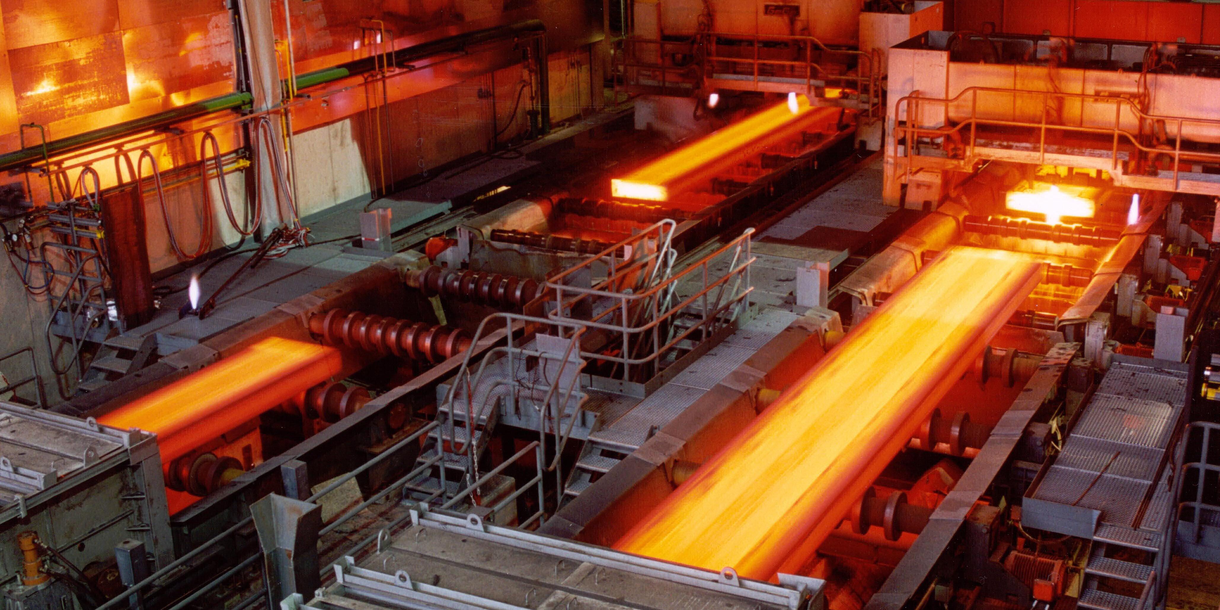 ثبت رکورد جدید در فولاد هرمزگان
