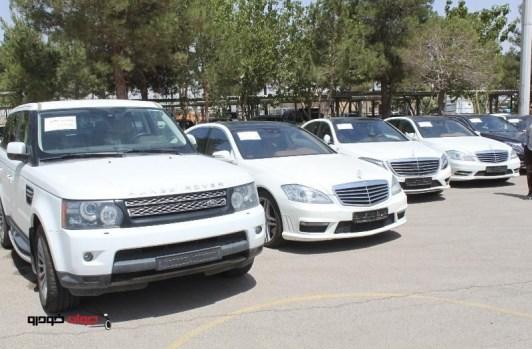 وزارت خارجه خودروهای لوکس قاچاق را خرید
