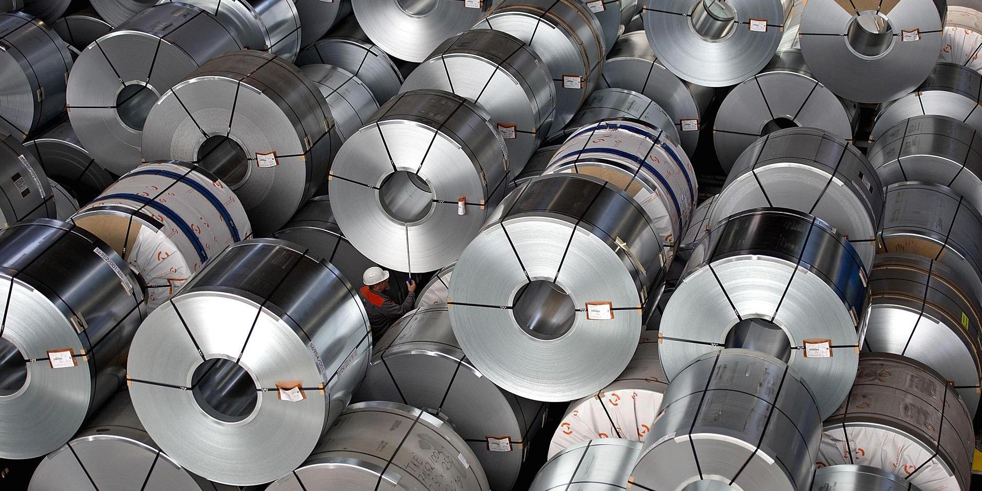 رشد مصرف ورقهای فولادی در کشور