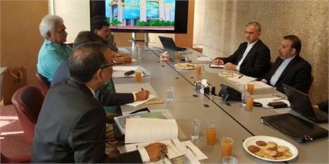 دیدار واعظی با دبیر کل اتحادیه جهانی مخابرات و وزاری ارتباطات هند و آفریقا