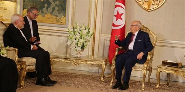 ایران هیچ سقفی برای گسترش روابط با تونس قائل نیست
