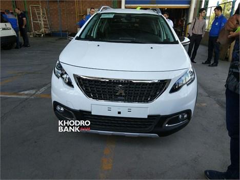 تصاویر پژو 2008 تولید شده ایران خودرو