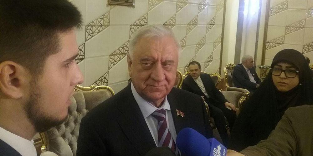 رییس مجلس بلاروس: خواستار گسترش روابط با ایران هستیم