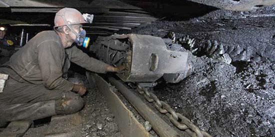 روند نزولی مصرف زغال سنگ