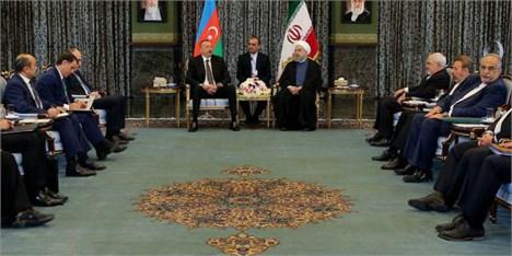 اراده ایران و آذربایجان تقویت و تعمیق همه جانبه روابط و همکاریها است